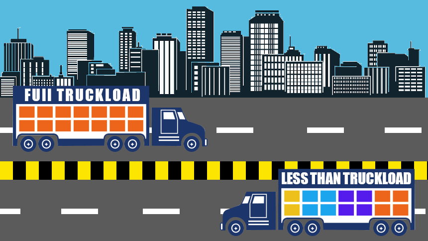 FTL and LTL transportation: What is the difference between transportation services of 3PL providers? - 3