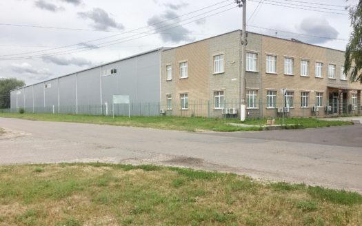 Складской комплекс  с административным помещением 5382 кв м участок 1 га.
