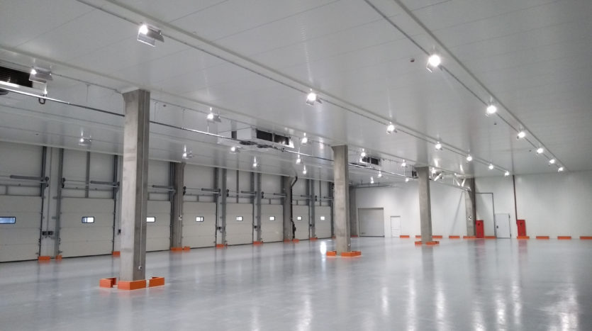 Rent of premises in the warehouse complex