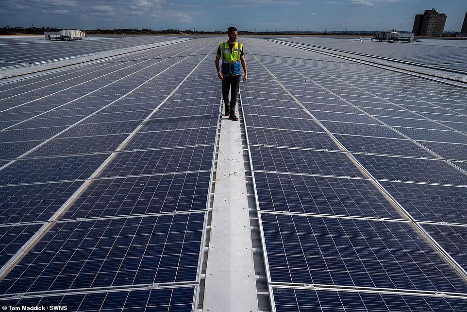 ТОП-5 найбільших сонячних електростанцій на дахах складів - 4