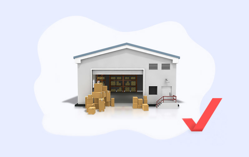 What is a buffer storage warehouse and why do companies need it?