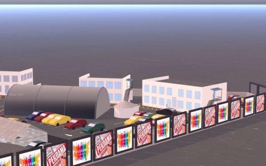 Аренда — Сухой склад, 2200 кв.м., г. Кременчуг