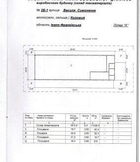 Satılık – Kuru depo, 1087 m2, Kolomyia