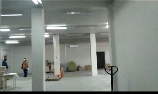 Rent – Warm warehouse, 500 sq.m., Vasilkov