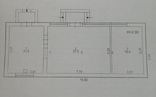 Продаж – Сухий склад, 900 кв.м., м Мелітополь