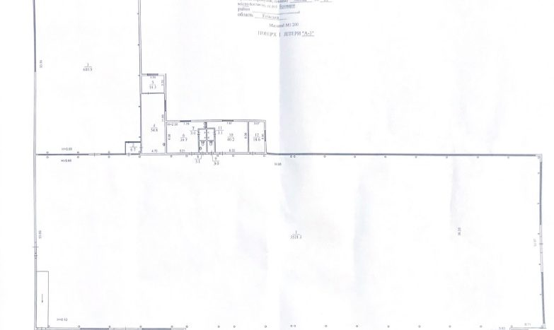 Rent of an industrial warehouse 4363 sq.m. Brovary city - 5