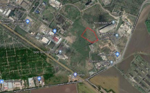 Satılık – Arsa, 2000 m2, Dnipro şehri