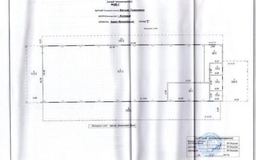 Оренда – Сухий склад, тисячу вісімдесят шість кв.м., м.Коломия