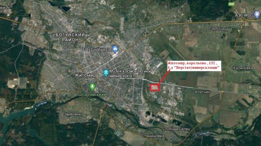 Rent - Dry warehouse, 456 sq.m., Zhytomyr - 9