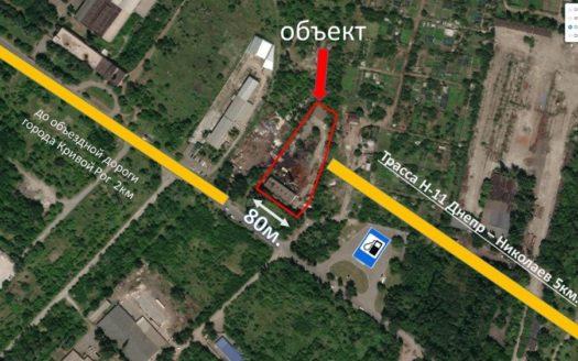Kiralık – Kuru depo, 853 m2, Kryvyi Rih