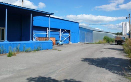 Sale – Warm warehouse, 3959 sq.m., Kalinovka