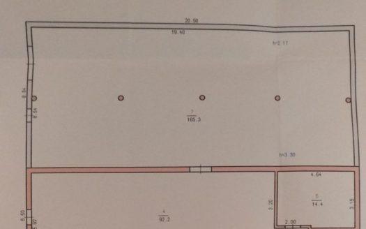 Kiralık – Kuru depo, 280 m2, Khmelnitsky