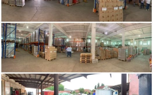 Rent – Dry warehouse, 1500 sq.m., Mukachevo