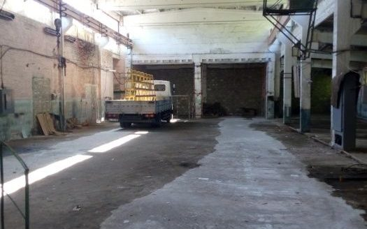 Rent – Warm warehouse, 1000 sq.m., Lubny