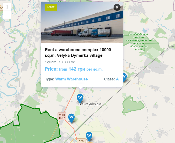 The 5 Most Viewed Warehouses on WareTeka: Digest for April - 5