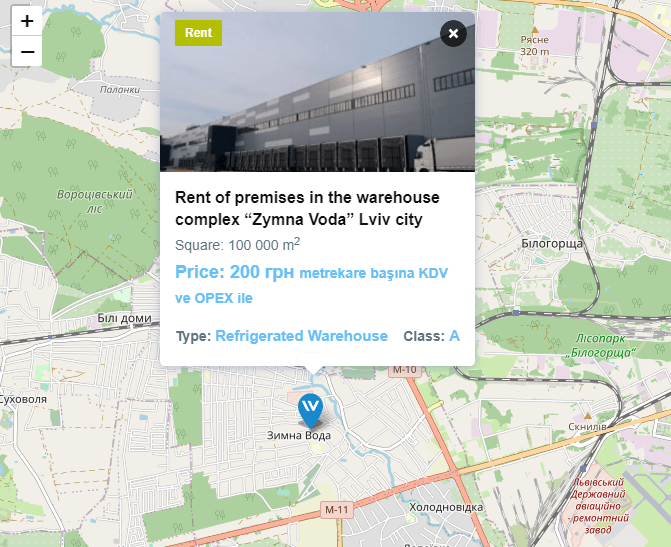 The 5 Most Viewed Warehouses on WareTeka: Digest for April - 7