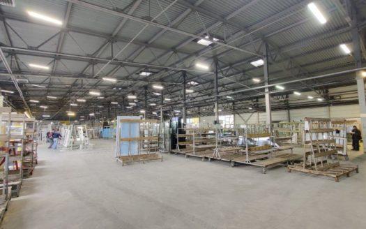 Rent – Warm warehouse, 9962 sq.m., Dnipro city