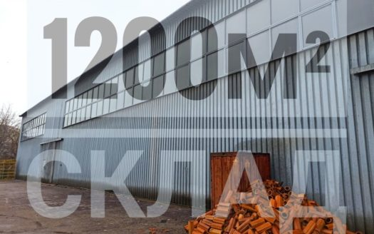Rent – Dry warehouse, 1200 sq.m., Zhytomyr