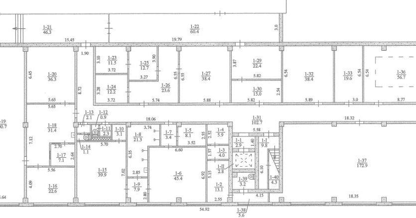 Kiralık - Kuru depo, 1018 m2, Dnipro - 2