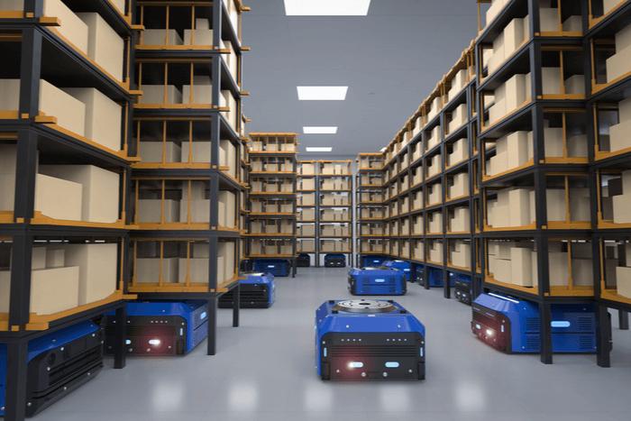 Роботи на складах: 5 прикладів автоматизації
