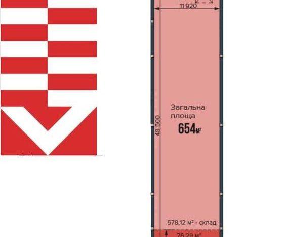 Продажа - Теплый склад, 654 кв.м., г. Львов - 4