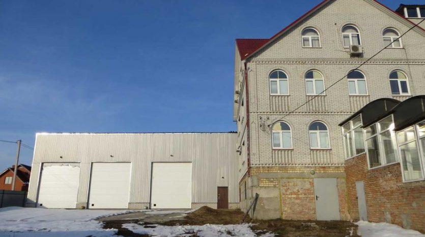 Продаж - Теплий склад, 2000 кв.м., м. Юрівка