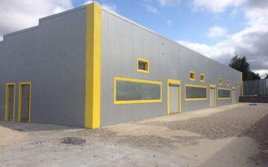 Sale – Warm warehouse, 500 sq.m., Svetlovodsk