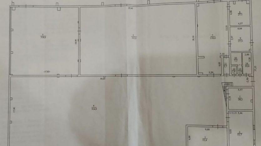 Аренда - Неотапливаемый склад, 1230 кв.м., г. Бровары - 3