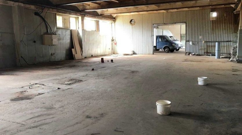 Rent - Warm warehouse, 1400 sq.m., Dnipro