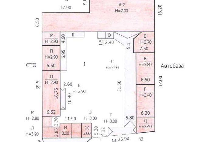 Продажа - Теплый склад, 1350 кв.м., г. Днепр - 10