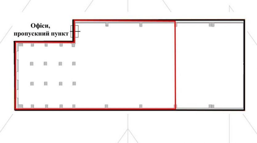 Kiralık - Kuru depo, 1590 m2, Lviv - 8