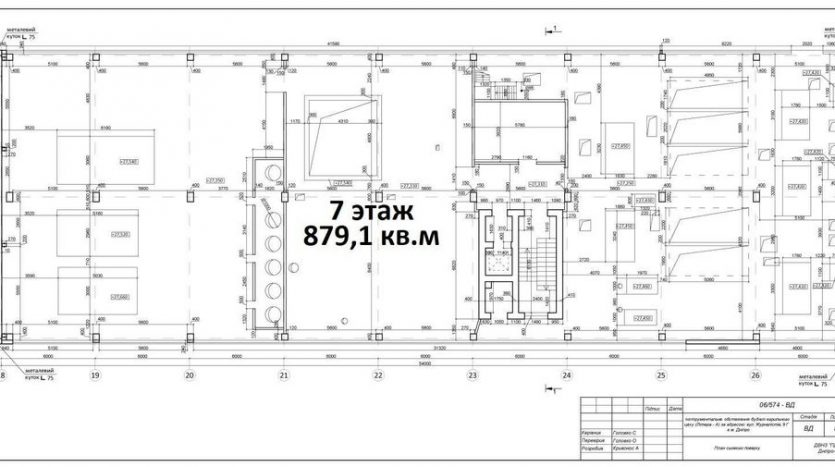 Rent - Dry warehouse, 5916 sq.m., Dnipro - 3