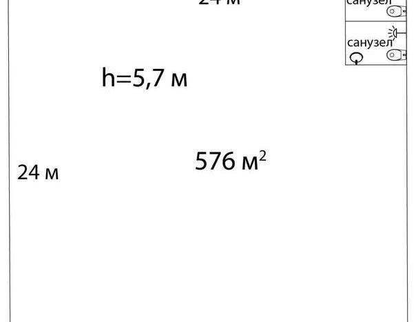 Kiralık - Sıcak depo, 576 m2, Kharkov - 8