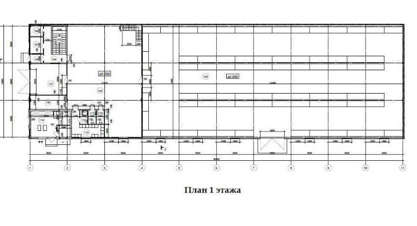 Аренда - Теплый склад, 1400 кв.м., г. Малая Александровка - 7