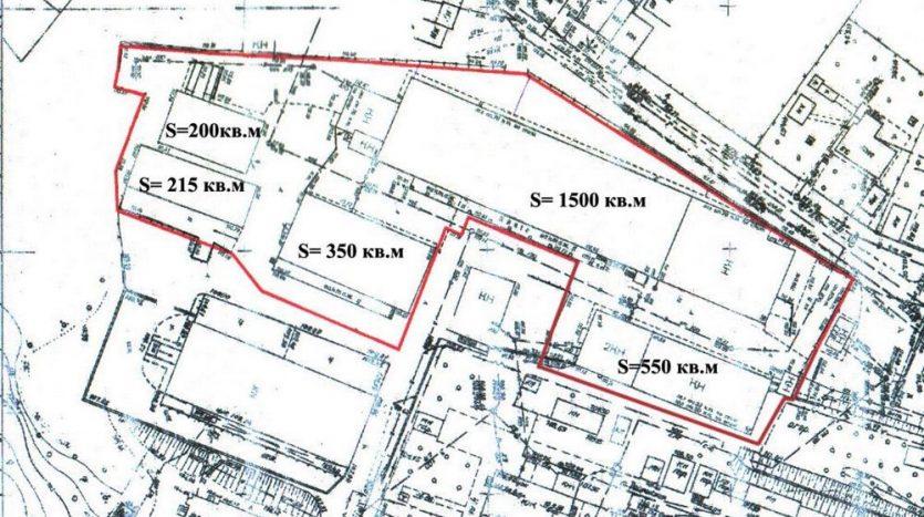 Satılık - Sıcak depo, 2980 m2, Dnipro