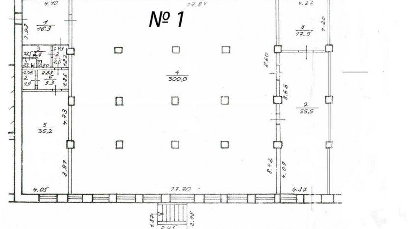 Kiralık - Kuru depo, 1500 m2, Dnipro - 2
