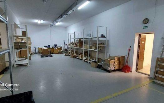 Rent – Warm warehouse, 1100 sq.m., Khotov