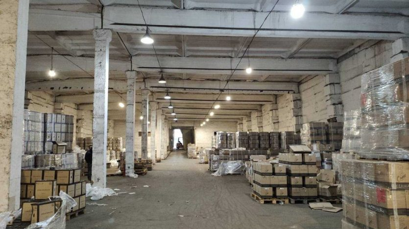 Rent - Dry warehouse, 750 sq.m., Dnipro
