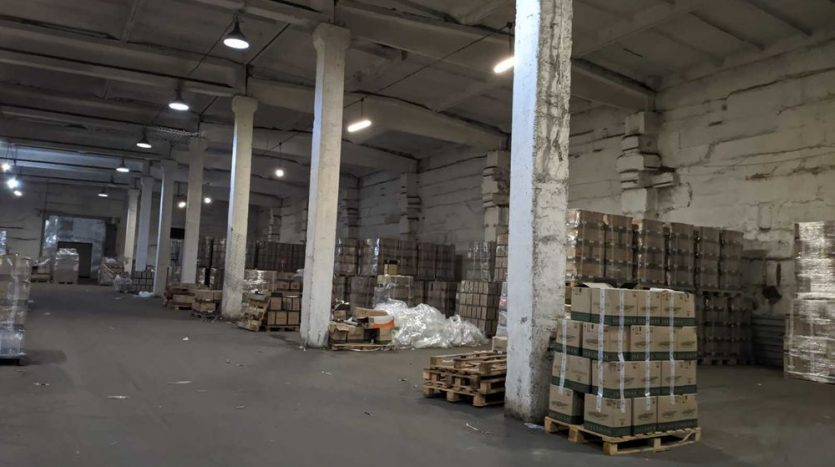 Rent - Dry warehouse, 750 sq.m., Dnipro - 2