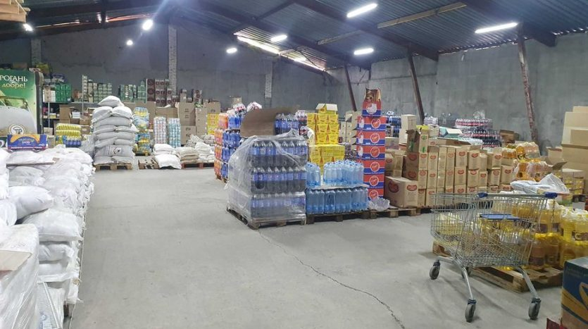 Rent - Warm warehouse, 625 sq.m., Zmeenets - 2