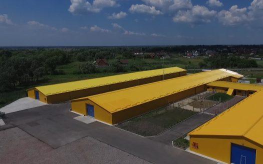 Аренда сухого склада 1500 кв.м. с. Пуховка