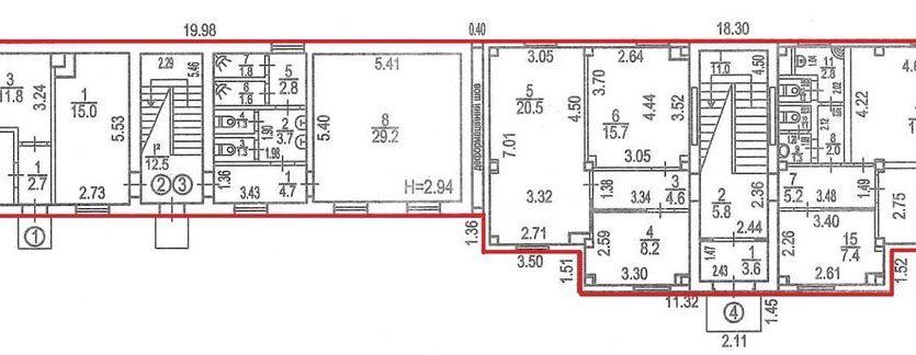 Аренда - Теплый склад, 2523 кв.м., г. Чайки - 6
