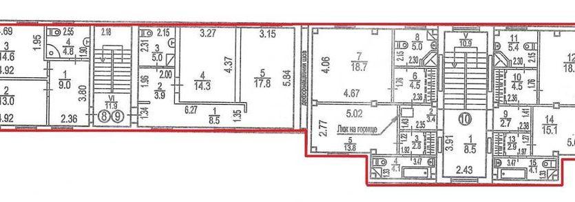 Аренда - Теплый склад, 2523 кв.м., г. Чайки - 5