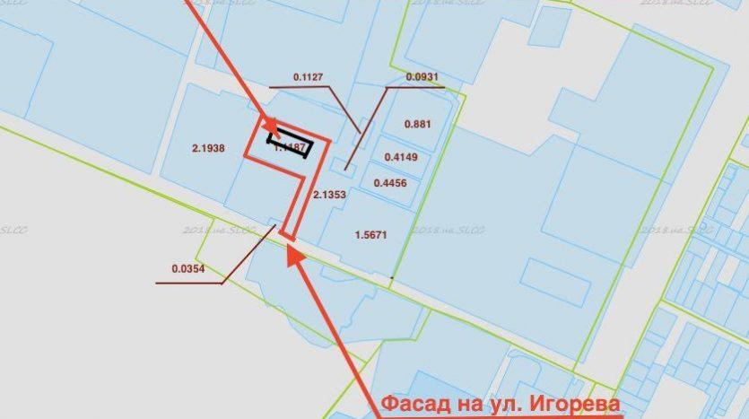 Satılık - Kuru depo, 2600 m2, Kalinovka
