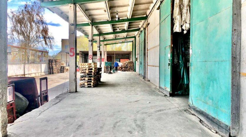 Аренда - Теплый склад, 4000 кв.м., г. Березань