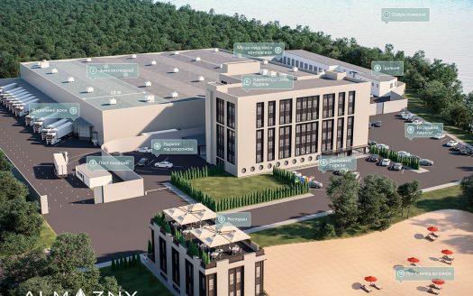 Rent warehouses 13000 sq.m. Kyiv city