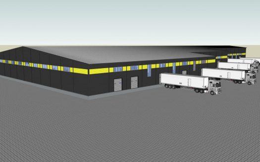 Rent warehouse 9000 sq.m. Sviatopetrivske village
