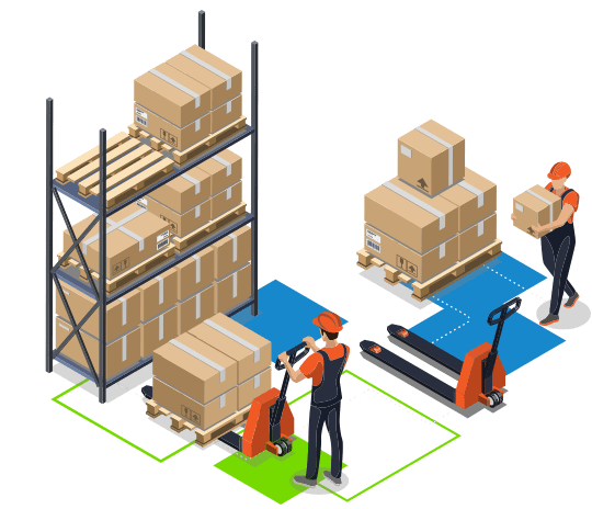 Outsourced warehouse and storage services - 2